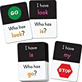 "60 learning deck cards, size: 2½"" by 3½"" each"