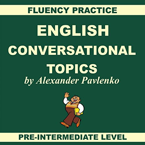 English: Conversational Topics audiobook cover art