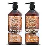 Dead Sea Collection Mineral Shampoo & Conditioner with Coconut...