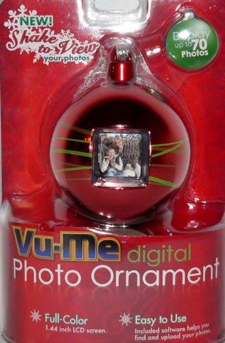 VuMe Photo Christmas Ornament