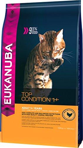 Eukanuba Top Condition Cibo secco per gatti adulti da 1 anno...