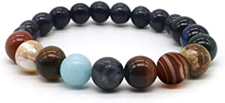 Self Care for Solar System Planet Bracelet For Men and Women with Healing Stones for Anxiety and Balance with Gemstones More Powerful than Crystals for Chakra Clearing