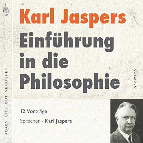 Einführung in die Philosophie Titelbild