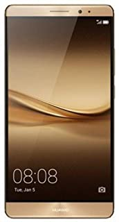 Huawei Mate 8 Unlocked Smartphone with 16 MP camera, 4 GB RAM, 64 GB Memory Dual Sim, No Warranty - International Version (Gold)