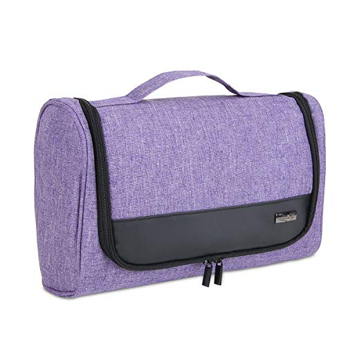 Luxja Storage Bag Compatible with Dyson Airwrap Styler, Travel Bag for Airwrap Styler and Attachments, Purple