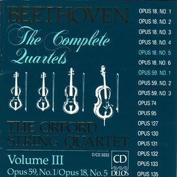 Beethoven, L.: String Quartets (Complete), Vol. 3 - Nos. 5 and 7