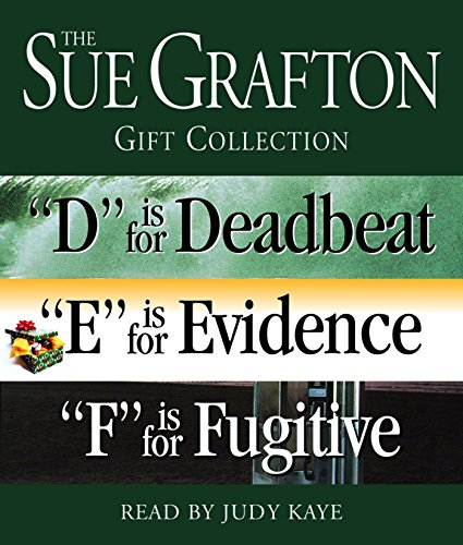 Sue Grafton DEF Gift Collection: 'D' Is for Deadbeat, 'E' Is for Evidence, 'F' Is for Fugitive (A Kinsey Millhone Novel)
