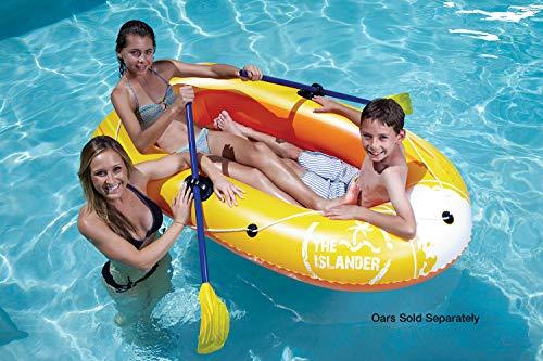 Poolmaster 87420 Swimming Pool and Lake Inflatable Boat Islander