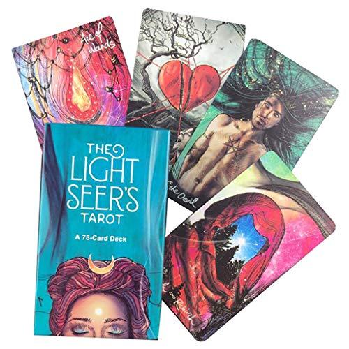 WSC Tarot-Leitfaden Für Das Oracle Card Divination Tarot-Brettspiel Solitaire Für Blinde