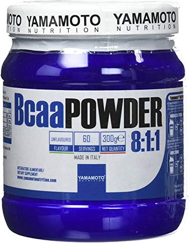 Yamamoto Nutrition Baca Powder 8: 1: 1 Suplemento de Aminoácidos - 300 gr