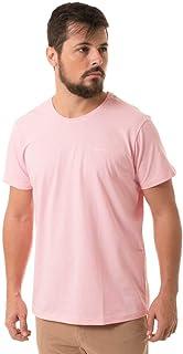 T-Shirt Denuncia Gola Careca Rosa
