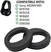 Replacement Foam Earpads Pillow Ear Pads Cushions Cover Cups Repair Parts for Sony MDR-RF985R RF985R RF985RK Headphones