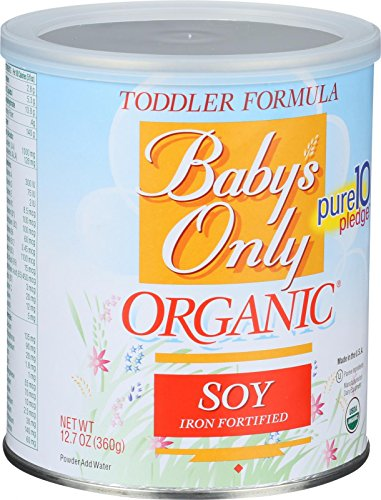 Baby's Only - Organic Toddler Formula, Soy, Kosher 12.7 Ounce, 12 Pack