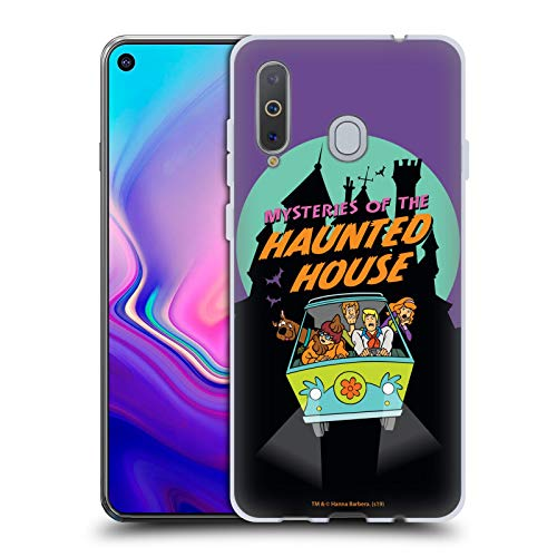 Head Hülle Designs Offizielle Scooby-DOO Gespensthaus Staffeln Soft Gel Handyhülle Hülle Huelle kompatibel mit Samsung Galaxy A8s (2018)