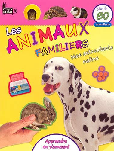 Les animaux familiers : Mes autocollants malins PDF Books