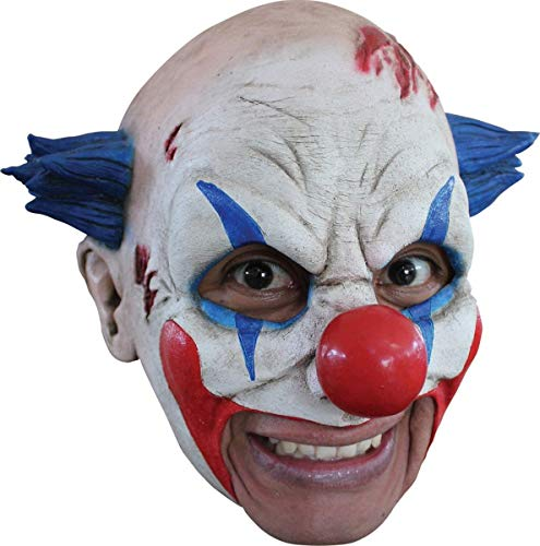 fx the halloween masks Ghoulish Productions Clown Latex Mask Halloween Party Adult