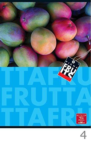 Pigna Fruits notitieblok 40 vellen meerkleurig A4 – notitieblok (40 vellen, meerkleurig, A4, 80 g/m², geruit papier, staple binding)