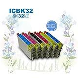 エプソン ICLC32  IC6CL32 対応 残量表示OK 互換・