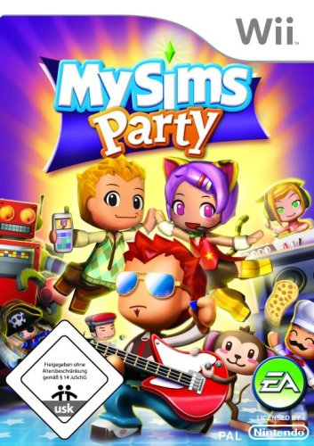 Electronic Arts MySims Party, Nintendo Wii - Juego (Nintendo Wii, DEU)