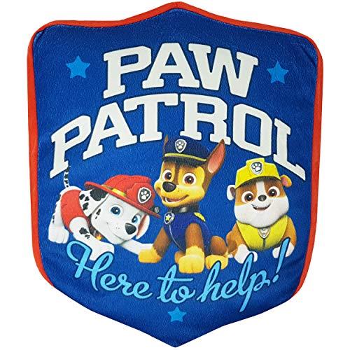 Inferno-Online PAW Patrol - Kissen für Kinder, Kuschelkissen für Jungen, 28x35 cm, Dekokissen aus Polyester, Oeko-TEX Standard 100