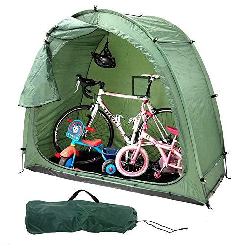 jdiw Fahrrad Garage Fahrrad-Zelt E-Roller Scooter E-Bike Zelt Garagenzelt Fahrradbox Abdeckplane für Outdoor Camping
