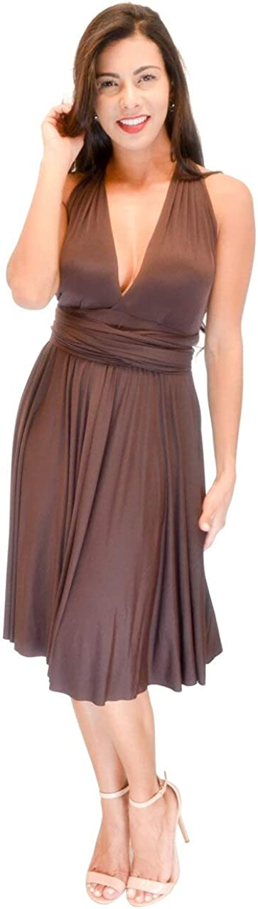 Vivian's Fashions Dress Popular brand in the world - Twist Wrap to Misses and Wear Selling 8 Ways