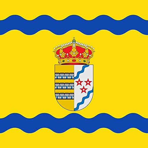 magFlags Bandera Large del municipio de Villanueva de Argaño Castilla y León   1.35m²   120x120cm