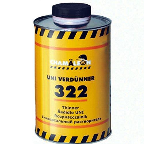 Chamäleon Profi VERDÜNNUNG 1L VERDÜNNER Uni Thinner für ACRYLPRODUKTE LACKE Etc