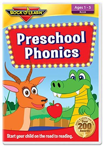 Preschool Phonics DVD by Rock 'N Learn