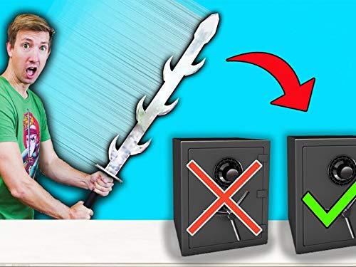 Abandoned Safe vs Ninja Gadgets Ebay Mystery Box Challenge Unboxing Haul