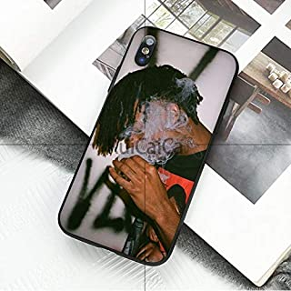 Inspired by Playboi Carti Phone Case Compatible With Iphone 7 XR 6s Plus 6 X 8 9 11 Cases Pro XS Max Clear Iphones Cases TPU- Playboy- Long- Vintage- Necklace- Necklace- 33027312926