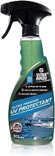 Car Vinyl & Plastic UV Protectant Spray - Residue Free Water Based Interior Cleaner for Vinyl, Plastic, Leather & Rubber Upholstery, UV Protectant for Cars, Boats & Trucks - 550ml (18.6 Oz)