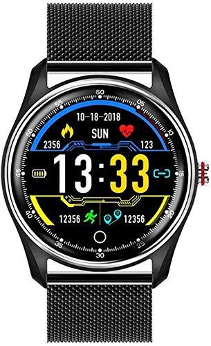 Smart Watch ECG + PPG Hrv Monitor de presión arterial con Ip68 pulsera impermeable para Android iOS Fashion-A-C