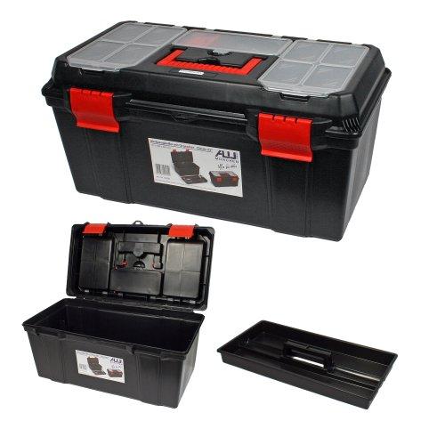 'Werkzeugkoffer für die ALUTEC Classic 2256280Abmessungen (BxTxH) 555x 290x 265mm...