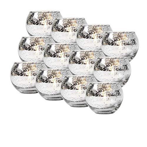 Bumpy Road 6/12 Stück Quecksilberglas Kerzenhalter Votiv Teelicht Kerzenhalter Hochzeit Mittelstücke Partys Home Decoration Geschenk