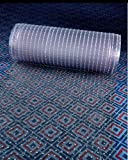 Clear Plastic Runner Rug Carpet Protector Mat Ribbed Multi-Grip 26in X 72in