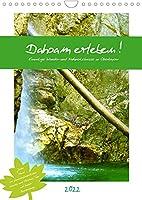 Dahoam erleben! Einmalige Wander-und Naturerlebnisse in Oberbayern (Wandkalender 2022 DIN A4 hoch): Tipps fuer familienfreundliche Natur-und Wandererlebnisse in Oberbayern (Monatskalender, 14 Seiten )