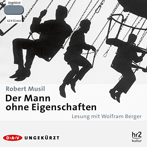 Der Mann ohne Eigenschaften audiobook cover art
