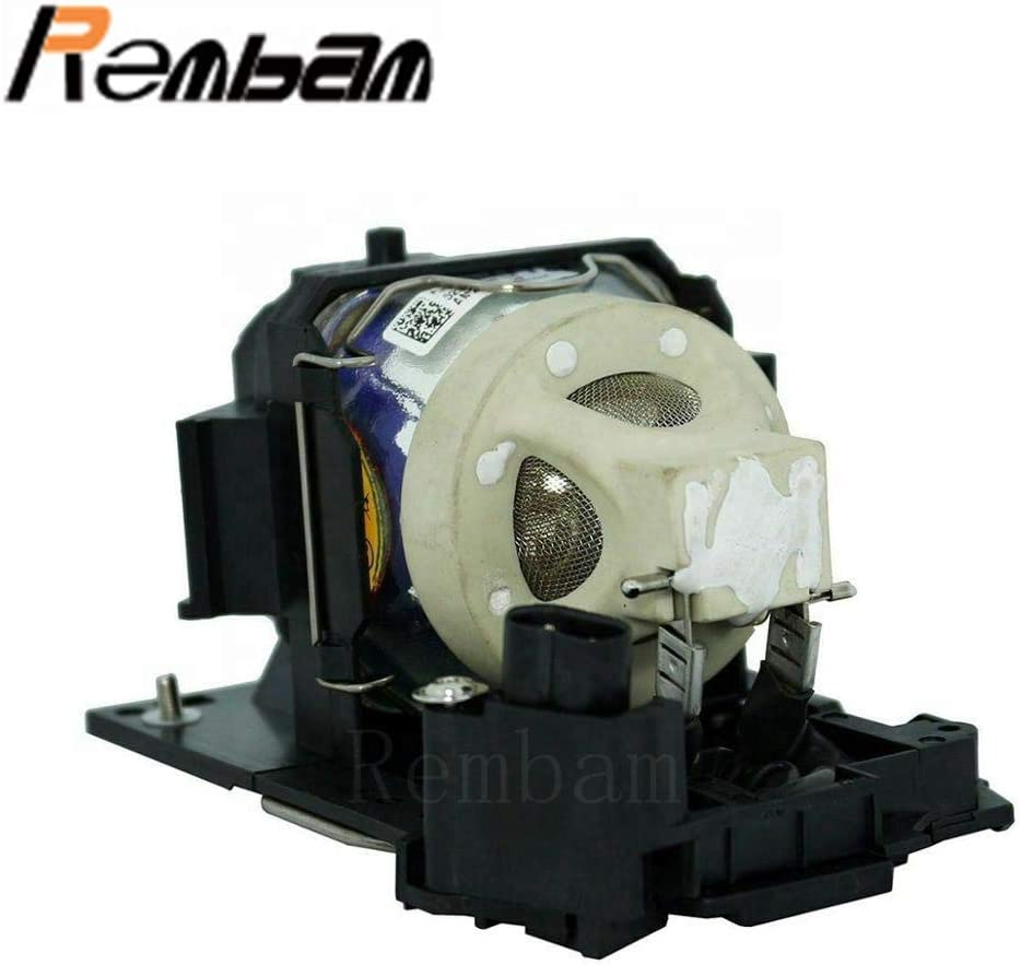 Rembam DT01411 Projector Replacement Compatible Lamp with Housing for HITACHI CP-A352WN CP-AW2503 CP-AW3003 CP-AW3019WNM CP-AW312WN CP-AX3003 CP-AX3503 CP-AX3505 CP-BW301N CP-BX301N