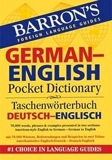 German-English Pocket Bilingual Dictionary