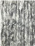 Moritz - Cortina de chenilla 90 x 200 cm, color gris