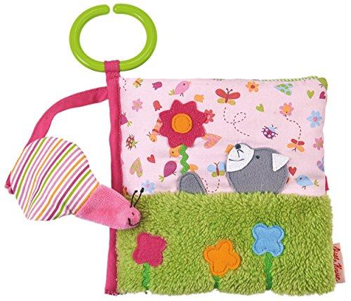 Käthe Kruse 9134591345 Im Garten Activitybuch Katze mit Fingerpuppe, rosa