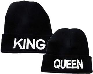 King Queen Pareja Mujeres Hombres Regalo Suéter De Punto