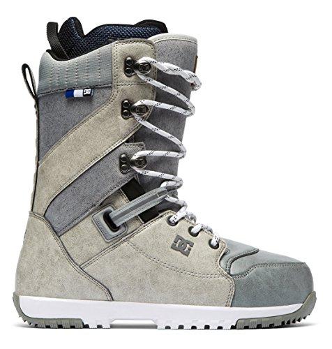 DC Shoes Adyo200037 Mutiny Bottes de snowboard à lacets pour homme, Homme, Bouleau argenté., 7.0