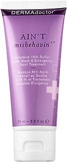 DermaDoctor Aint Misbehavin intensive Sulfur Acne Mask & Emergency Spot Treatment - 70ML