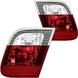Rückleuchten Heckleuchten Set rot weiß Innen E46 3er nur Limousine Bj. 01-05