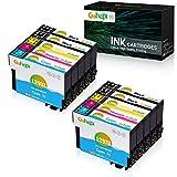 Gohepi Ersatz für Epson T1295 Druckerpatronen T1291 T1292 T1293 T1294 Kompatibel für Epson Stylus SX435W SX235W SX420W SX230 SX425W SX440W SX445W, Epson Stylus Office BX535wd