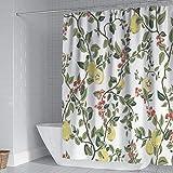 Bolo Cómoda cortina de ducha, impermeable para baño, 180 cm x 180 cm
