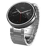 Motorola Moto 360 - Light Metal%カンマ% 23mm%カンマ% Smart Watch