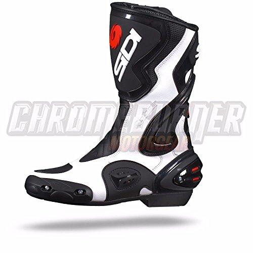 Sidi Cobra Motorradstiefel, Schwarz-Weiß, Größe: 38 - 2